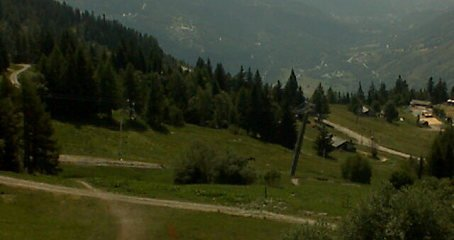webcam image of Les Arcs