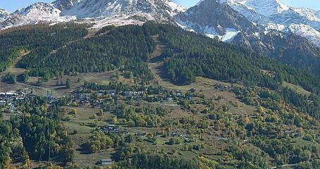 a webcam image of Vanoise Express